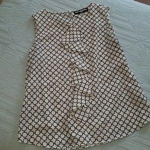 Karl Lagerfeld sleeveless blouse